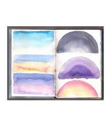 Caderno de estudos do comportamento da cor na atmosfera celeste