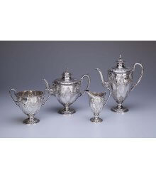#####Serviço para chá e café de prata inglesa